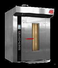 Ротационная хлебопекарная печь Муссон-ротор 77Р (разборная, собранная) (газ, электро)