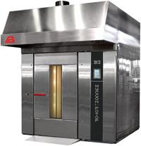 Ротационная хлебопекарная печь Муссон-ротор 350 (разборная) (газ, диз.топливо)