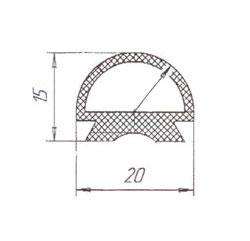 уплотнительная резина на печь Муссон Ротор